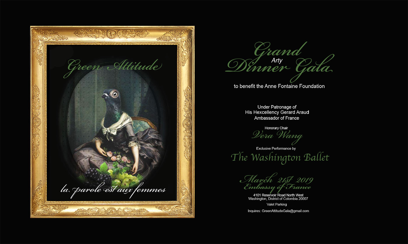 THE GREEN ATTITUDE GALA 2019 – Anne Fontaine Foundation